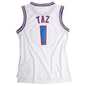 N - A Men's Basketball Jersey #! Space Movie Jersey Shirts White/Black S-XXL