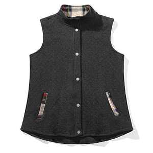 2XL Sleeveless Lightweight Quilted Outerwear Jacket Vest with Pocket Black-2XL