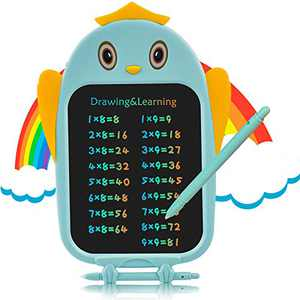 Owl LCD Writing Tablet - 8.5 Inch Colorful Toddler Doodle Board, Educational and Learning Electronic Drawing Pads, Cute Drawing Tablet Toy Gifts for Kids