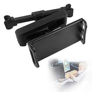 Comoyda Tablet Holder for Car, Stretchable Car Headrest Smartphones/Switch/iPad Holder 360° Rotating Adjustable Car Backseat Tablet Mount Holder