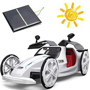 ZAYOR STEM Toys Education Solar Car Toys,Mechanical Engineering Building Toys Solar and Battery Powered 2 in 1 DIY,5 6 7 8 9 10Years and Up Preschool Toddlers Kids Birthday Gifts for Boys & Girls