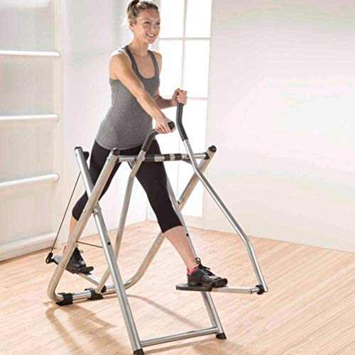 US Fast Shipment Elliptical Training Machines, Foldable Air Walk Trainer Glider Elliptical Exercise Machine Fitness for Home G-ym, 264 Lb Max Weight Non-Slip Portable Air Glider Exercise Machine