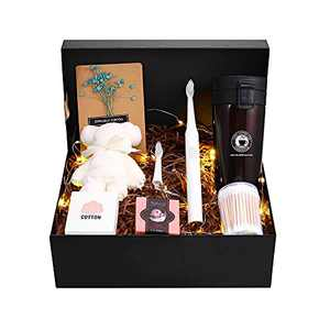 Girlfriend Gifts for Christmas, Electric Toothbrush and Thermos Cup Set for Women Mom Daughter Aunt Niece Anniversary Christmas Mothers Day Valentines Gifts Boxes Christmas Gifts for Her