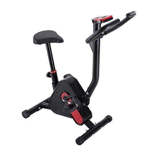 US Fast Shipment Indoor Cycling Bike Stationary - Cycle Bike with LCD Display &Comfortable Seat Cushion- Best Chirstmas Decorations Gift