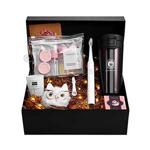 Birthday Gifts for Women Box Sets, Electric Toothbrush and Thermos Cup Set for Women Mom Wife for Her Christmas Gifts for Her Mom Gift Ideas Gift Set for Women Christmas Presents for Women
