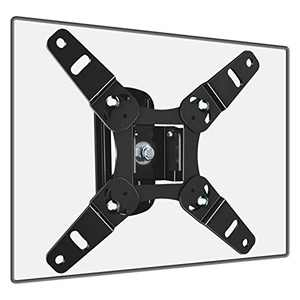Fozimoa TV Monitor Wall Mount Bracket Swivels Tilts Rotation for Most 13-45 Inch LED LCD Flat Curved Screen TVs & Monitors, Max vesa 200x200mm up to 44lbs