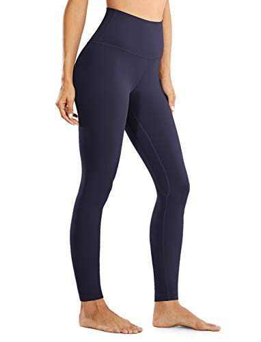 VANTONIA Women's Leggings High Waisted Tummy Control Full-Length Workout Yoga Pants Navy X-Large