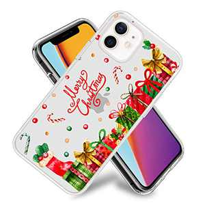 Merry Phone Case for iPhone 12/iPhone 12 Pro Clear Design Flexible TPU Shockproof Protection Basic Slim Cover