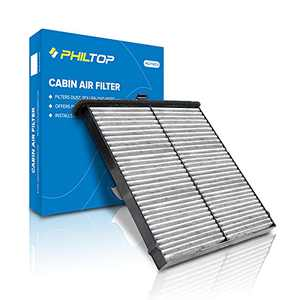 PHILTOP Cabin Air Filter, Replacement for CF11811, CPJ6X, CX-5 2014-2020, Premium Cabin Filter with Activated Carbon Filter Up Dust Pollen Oder