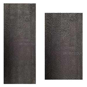 "Bath Rugs Super Thick Soft and Machine Washable, Kitchen Carpet, Bathroom mat, Absorbent Dry Quick Chenille Bath mat (20""x30""Plus17 x47, Gray)"