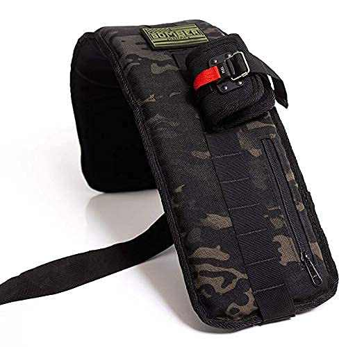 Bomber Strap (Dark Camo with Magnetic Buckles