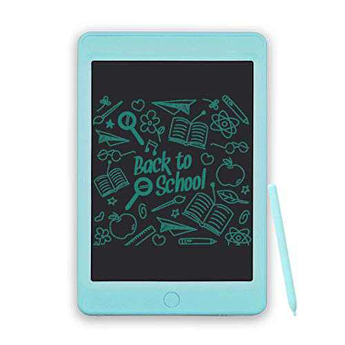 LCD Writing Tablet, Doodle & Scribbler Dry Erase Drawing Board, Play Pad for Kids Children, Memory Notepad for Home LCD013 - Blue