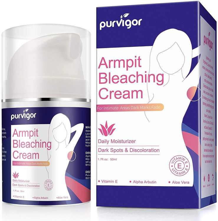 Natural Cream,Underarm Cream Effective for Lightening & Brightening Armpit, Knees, Elbows, Sensitive & Private Areas, Whitens, Nourishes, Repairs Skin,Get Rid of Dark Fast