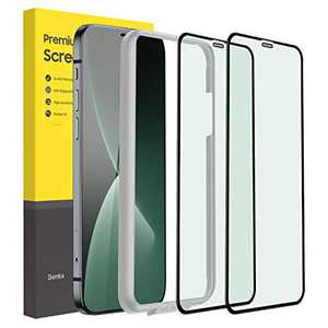 iPhone 12 Pro Max Tempered Glass Screen Protector, Eye Protection Screen Protector iPhone 12 Pro Max, Clear Shockproof Tempered Glass Film [10s Easy Installation] [2 Pack] [6.7 Inch]