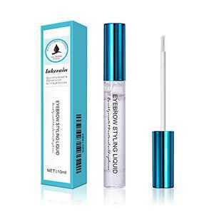 Lakerain Eyebrow Shaper Liquid Gel with Brush Waterproof Long Lasting Transparent Eyebrow Styling Gel For Makeup