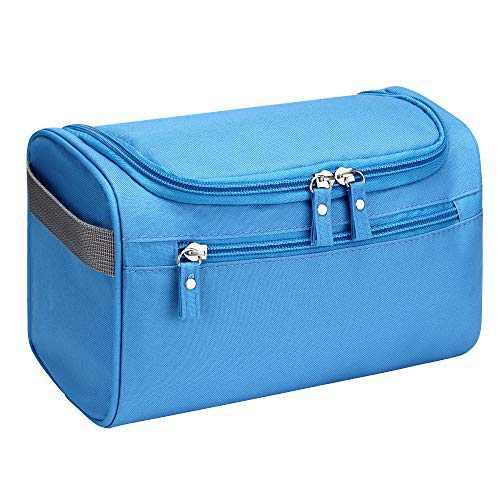SELLYFELLY Hanging Toiletry Bag for Travel Women Storage Shower Bag Men's Shaving Bag Dopp Kit Organizer With Hook