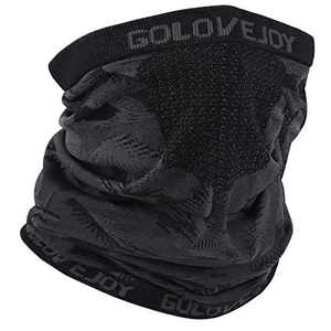 Winter Neck Warmer Gaiter Balaclava Windproof Face Cover Scarf Shield Mask for Men