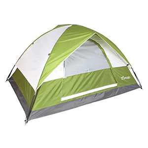yodo Lightweight 2 Person Camping Backpacking Tent-3 Season Waterproof Dome Tent with Rain Fly for Outdoor Hiking Mountaineering,Green White