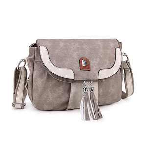 L&H Soft Faux Leather Crossbody Bag Shoulder Bag Messenger Bag Fashion Casual Travel Handbags for Women