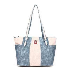 L&H Handbags for Women Soft Faux Leather Shoulder Bag Fashion Casual Large Capacity Handbag