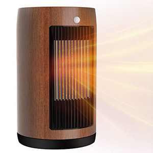 Electric Space Heater 1500W Portable Smart control,Touch panel, PIR Motion Sensor, Function 3 Modes with Overheat & Tip-over Shut off