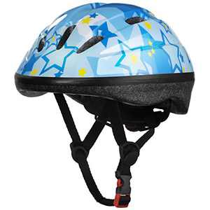 Hanstre Kids Bike Helmet Adjustable Helmet for Kids Ages 5+ and Older Boys Girls Toddler Helmet Safety Helmet Protection for Multi-Sport Cycling Skating Scooter Roller Skateboarding Blue