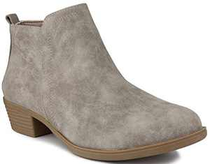 Sugar Women's Trixy Ankle Boot Gray 6.5