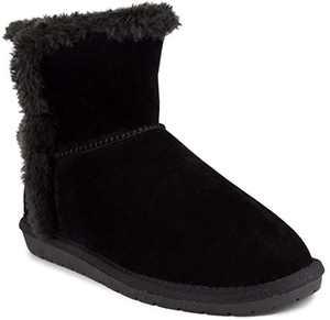 Sugar Women's Poppy Slip On Winter Boots Warm Winter Booties Black 8