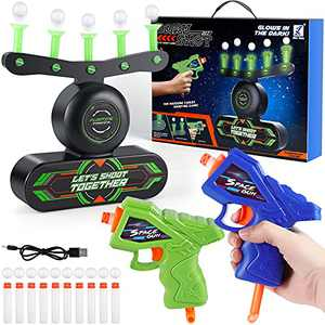 IDJWVU Floating Shooting Target Toys Game for Kids, Outside Boys Toys, Kids Shooting Target Practice Game Glow, Cool Birthday Gifts for Boys Age 6+ Years Old