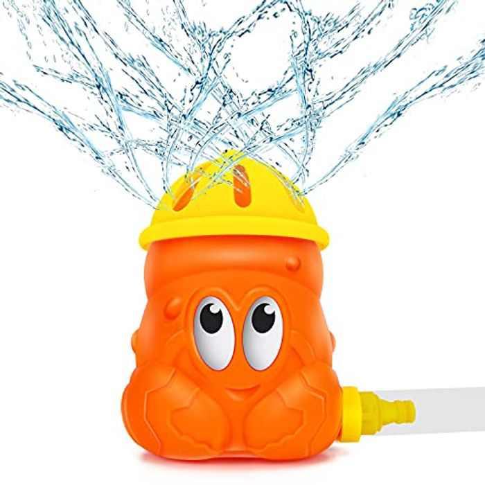 Magicfun Splash Play Toy for Kids, Sprinkler Water Toy,Rotary Crab Sprinkler Summer Outdoor Garden Water Toys Water Sprinkler For Lawn , Sprays Garden Toy for Boys Girls
