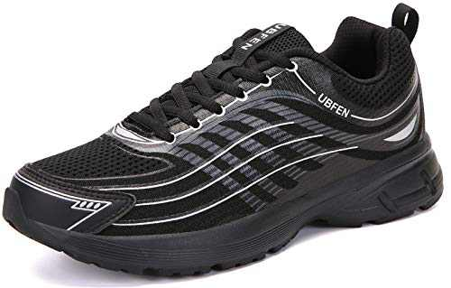 UBFEN Womens Running Shoes Athletic Walking Sneakers Black