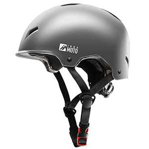 INNAMOTO Bike Helmet - Impact Resistance Ventilation/Head Protection Gear for Multi-Sports Bicycle Scooter Skateboarding Roller Skate Inline Skating Longboard BMX MTB for Kids Youth Adults