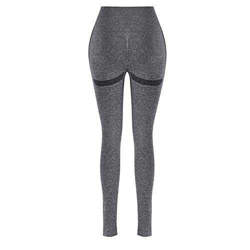 Helisopus High Waisted Leggings for Women Yoga Pants Butt Lifting Tummy Control Commpression Pants for Running Yoga Workout D-Black