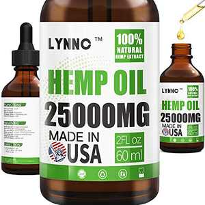 LYNNC Relief Oil- 15000MG- Lower Joint, Muscle, Back, Knee & Pain