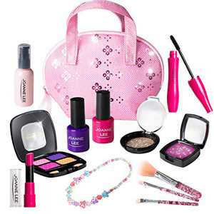 Kids Makeup Kit, Pretend Play Makeup Set Kids Toys for Girls Age 3, 4, 5,6 (Not Real Makeup)