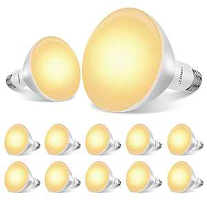 LEDIARY 12-Pack BR30 LED Recessed Light Bulbs, UL Certificated LED Bulb for Cans, Dimmable, 3000K Warm White, 8W=65W, 650LM Indoor Flood Lights - E26 Medium Base