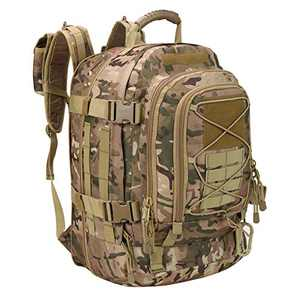 Greencity 3 Day Assault Rucksack Military Daypack Hiking School Daypack Tactical Backpack(Multicam)