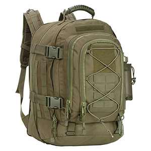 Greencity 3 Day Assault Rucksack Military Daypack Hiking School Daypack Tactical Backpack(OD Green)
