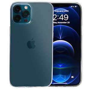 Paloma Mora Slim Fit Compatible with iPhone 12 Pro Clear Case 6.1 inch [Not Yellowing] Shockproof Protective Phone Case Slim Thin Cover