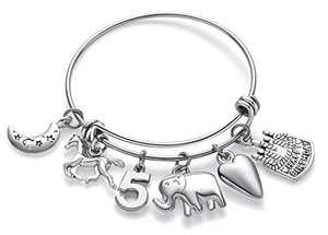 Doitory 5 Year Old Girl Gift Birthday Gifts for Teenage Girls Charm Bracelets for Women Birthday Gifts for Women Teen Girl Gifts for Friends Female Jewelry for Women