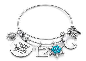 Doitory Gifts for 12 Year Old Girl Birthday Gifts for Teenage Girls Charm Bracelets for Women Birthday Gifts for Women Teen Girl Gifts for Friends Female Jewelry for Women
