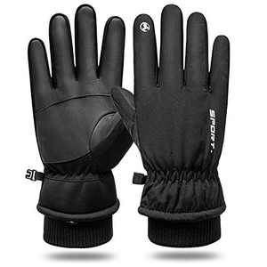 VATI Winter Gloves for Men Women, -30 ℉ Waterproof Touch Screen Gloves for Workout Cycling Running Hiking Driving