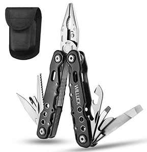 Gifts for Men Dad,Valentines Day Gifts for Him,Anniversary Birthday Fathers Day Unique Gift for Husband Him,Christmas Stocking Stuffers,Gadget for Men,All in One Multitool Plier for Hiking Camping