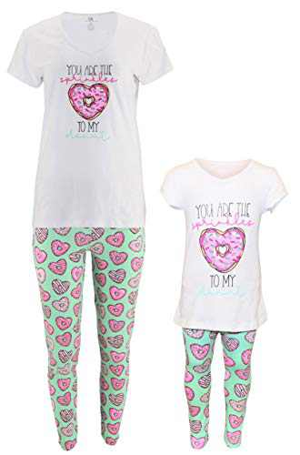 Unique Baby Mommy Me Matching Donut Valentines Day Outfit (2t, Donuts)