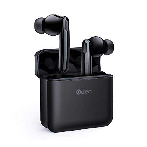Wireless Earbuds Active Noise Cancelling, ANC Bluetooth 5.0 Wireless Earphones with Charging Case, 4 Mics Clear Call, 30H Playtime in-Ear Hi-Fi (Black)