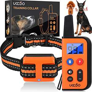 Dog Training Collar with Remote, Waterproof Rechargeable Shock Collars for Dogs with Remote Range 2660Ft, 3 Training Modes, 0-99 Vibration Shock and Beep Sound Shock Collar for Small Medium Large Dogs