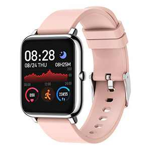 SKMEI Smart Watch, Waterproof Smart Watch for Men Women, Fitness Tracker with Heart Rate Monitor Blood Pressure Blood Oxygen Monitor, Smartwatch Activity Tracker Pedometer Calories for Android iPhone
