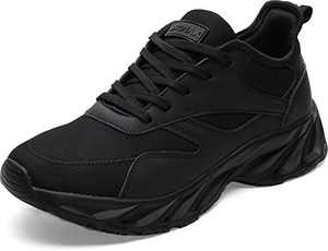 BRONAX Men's Casual Tennis Running Sneakers, Size 13 Comfortable Walking Training Gym Sport Workout Athletic Shoes Zapatos de Tenis para Hombres for Male Negro Black 48