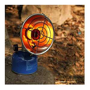 Upgraded Version of Camping Heater,Mini Electronic Firefighting Autumn and Winter Fishing Camping Tent Heater, Gas Small Sun, PCTT15 Tank-Top Propane Heater-Single Burner, 15,000 BTU (multcolor)