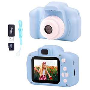 Kids Camera for Boys and Girls, Digital Camera Toy Gifts for Birthday , 13MP 1080P HD Digital Video Camera,Portable Electronic Toy for 3 4 5 6 7 8 Year Old Boy with 32GB SD Card(Blue)
